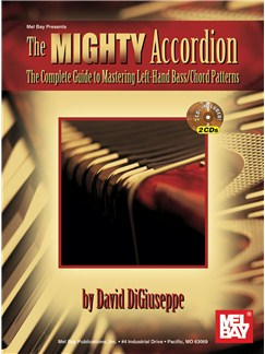 David Digiuseppe: The Mighty Accordion Books and CDs | Accordion