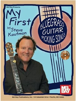My First Bluegrass Guitar Picking Songs Books and CDs | Guitar