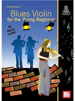 Blues Violin For The Young Beginner (Book/Online Audio) Books and Digital Audio | Violin