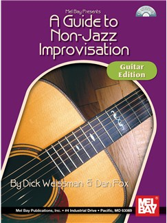 A Guide to Non-Jazz Improvisation: Guitar Edition Books and CDs | Guitar, Guitar Tab