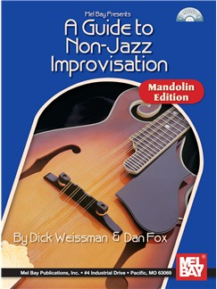 A Guide to Non-Jazz Improvisation: Mandolin Edition Books and CDs | Mandolin