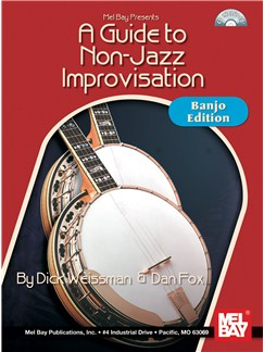A Guide To Non-Jazz Improvisation: Banjo Edition Books and CDs | Banjo, Banjo Tab