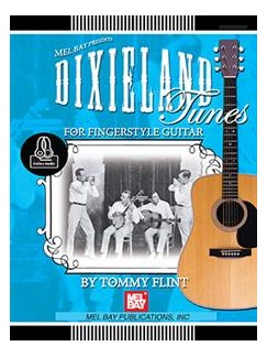 Dixieland Tunes For Fingerstyle Guitar Books | Guitar