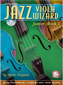 Jazz Viola Wizard Junior, Book 2 Books and CDs | Viola