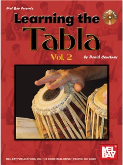 Learning the Tabla, Volume 2 Books and CDs | Percussion