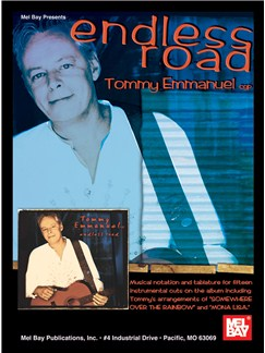 Tommy Emmanuel: Endless Road Books | Guitar, Guitar Tab