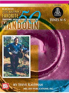 Steve Kaufman's Favorite 50: Mandolin, Tunes N-S Books | Mandolin