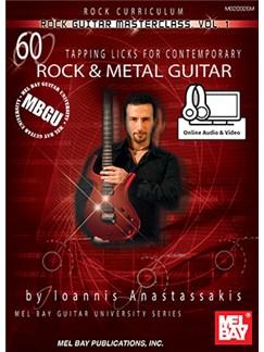 Ioannis Anastassakis: MBGU Rock Guitar Masterclass - Volume 1 (Book/Online Audio/Video) Books and Digital Audio   Guitar