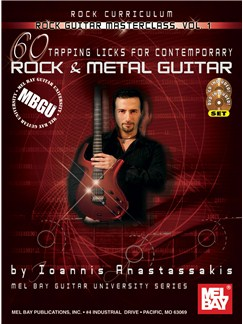 Rock Guitar Masterclass Vol, 1 Books, CDs and DVDs / Videos | Guitar