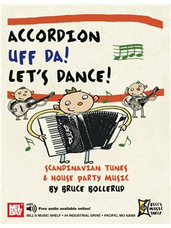 Accordion Uff Da! Let's Dance: Books | Accordion