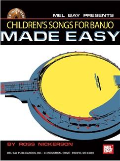 Children's Songs for Banjo Made Easy Books and CDs | Banjo, Banjo Tab
