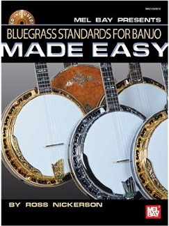 Bluegrass Standards for Banjo Made Easy Books and CDs | Banjo