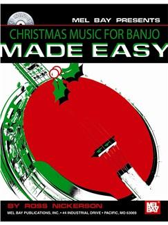 Christmas Music for Banjo Made Easy Books and CDs | Banjo, Banjo Tab