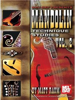 Mandolin Technique Studies, Vol. 2 Books | Mandolin