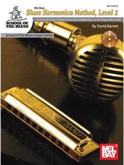 Blues Harmonica Method - Level 2 (Book/CD) Books and CDs | Harmonica