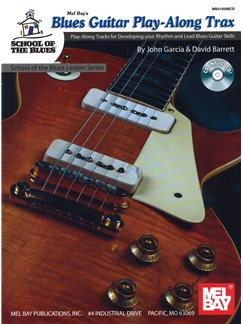 Blues Guitar Play-Along Trax Books and CDs | Guitar