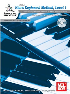 Blues Keyboard Method, Level 1 Books and CDs | Piano