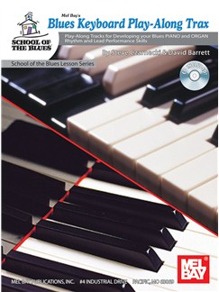Blues Keyboard Play-Along Trax Books and CDs | Piano