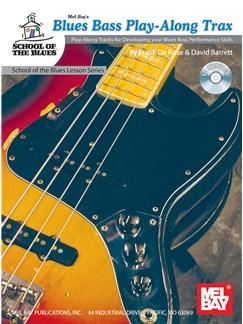 Blues Bass Play-Along Trax Books and CDs | Bass Guitar, Bass Guitar Tab