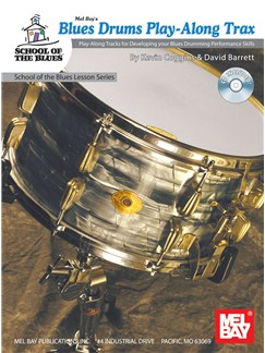 Blues Drums Play-Along Trax Books and CDs | Drums