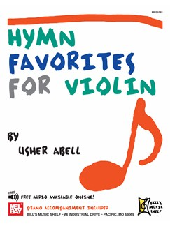 Hymn Favorites for Violin Books | Violin