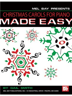 Christmas Carols For Piano Made Easy Books | Piano