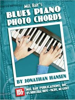 Mel Bay's Blues Piano Photo Chords Books | Piano