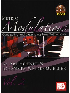 Ari Hoenig: Metric  Modulations, Vol. 2 Books and DVDs / Videos | Drums