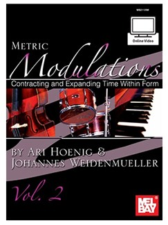 Ari Hoenig/Johannes Weidenmueller: Metric Modulations, Vol. 2 (Book/Online Video) Books, CDs and DVDs / Videos | All Instruments
