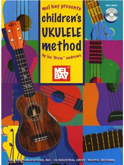 Lee Drew Andrews: Children's Ukulele Method Books and CDs | Ukulele