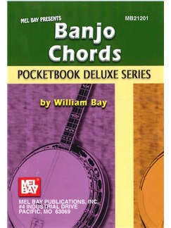 Mel Bay: Banjo Chords - Pocketbook Deluxe Series Books | Banjo