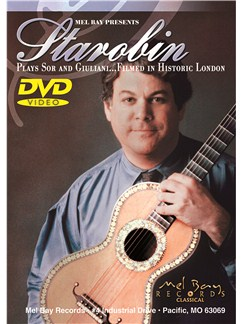 Starobin Plays Sor And Giuliani DVDs / Videos | Guitar