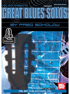 Great Blues Solos (Book/Online Audio) Books and Digital Audio | Guitar