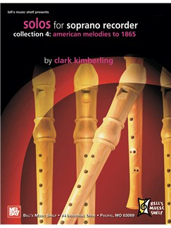 Solos for Soprano Recorder, Collection 4: Books | Flute