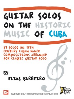Guitar Solos on the Historic Music of Cuba Books | Guitar
