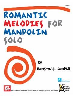 Romantic Melodies for Mandolin Solo Books | Mandolin