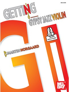 Martin Norgaard: Getting Into Gypsy Jazz Violin (Book/Online Audio) Books and Digital Audio | Violin