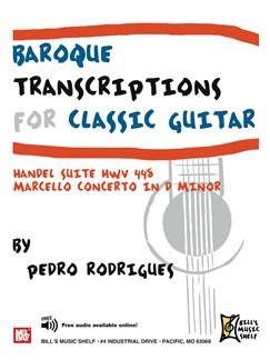 Baroque Transcriptions for Classic Guitar Books | Guitar