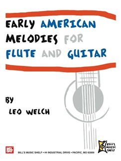 Early American Melodies for Flute and Guitar Books | Guitar