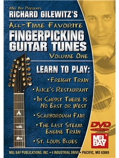 Richard Gilewitz All-Time Favorite Fingerpicking Tunes: Volume 1 DVDs / Videos | Guitar