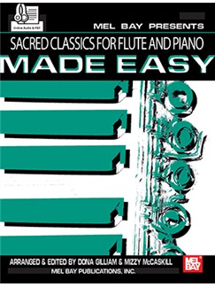 Sacred Classics For Flute And Piano Made Easy Books | Flute