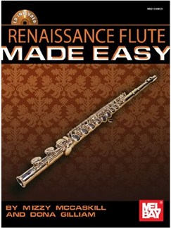 Renaissance Flute Solos Made Easy Books and CDs | Flute