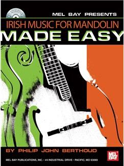 Philip John Berthoud: Irish Music for Mandolin Made Easy Books and CDs | Mandolin