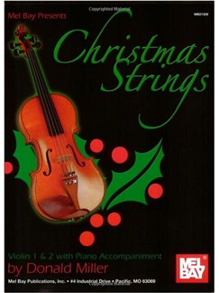 Christmas Strings:  Violin 1 & 2 With Piano Accomp. Books | Violin
