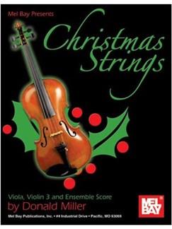 Christmas Strings:  Viola, Violin 3 & Ensemble Score Books | Viola