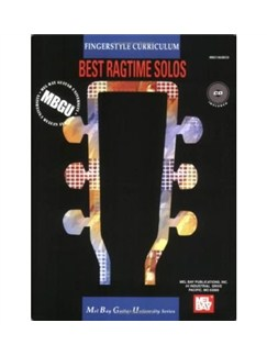 Fingerstyle Curriculum: Best Ragtime Solos Books and CDs | Guitar Tab