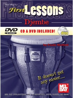 First Lessons Djembe Books, CDs and DVDs / Videos | Percussion