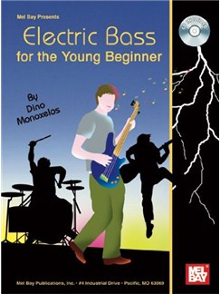 Electric Bass for the Young Beginner Books and CDs | Bass Guitar