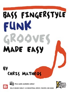 Bass Fingerstyle Funk Grooves Made Easy Books | Bass Guitar, Bass Guitar Tab