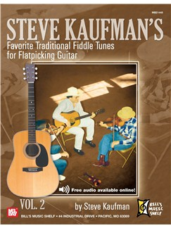 Steve Kaufman's Favorite Fifty Am Trad. Fiddletunes V2 G-M Books | Guitar, Guitar Tab